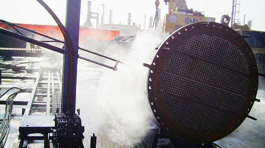 heat exchanger external bundle cleaning